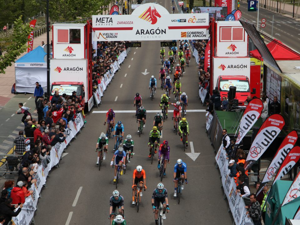 Vuelta Aragón Zaragoza