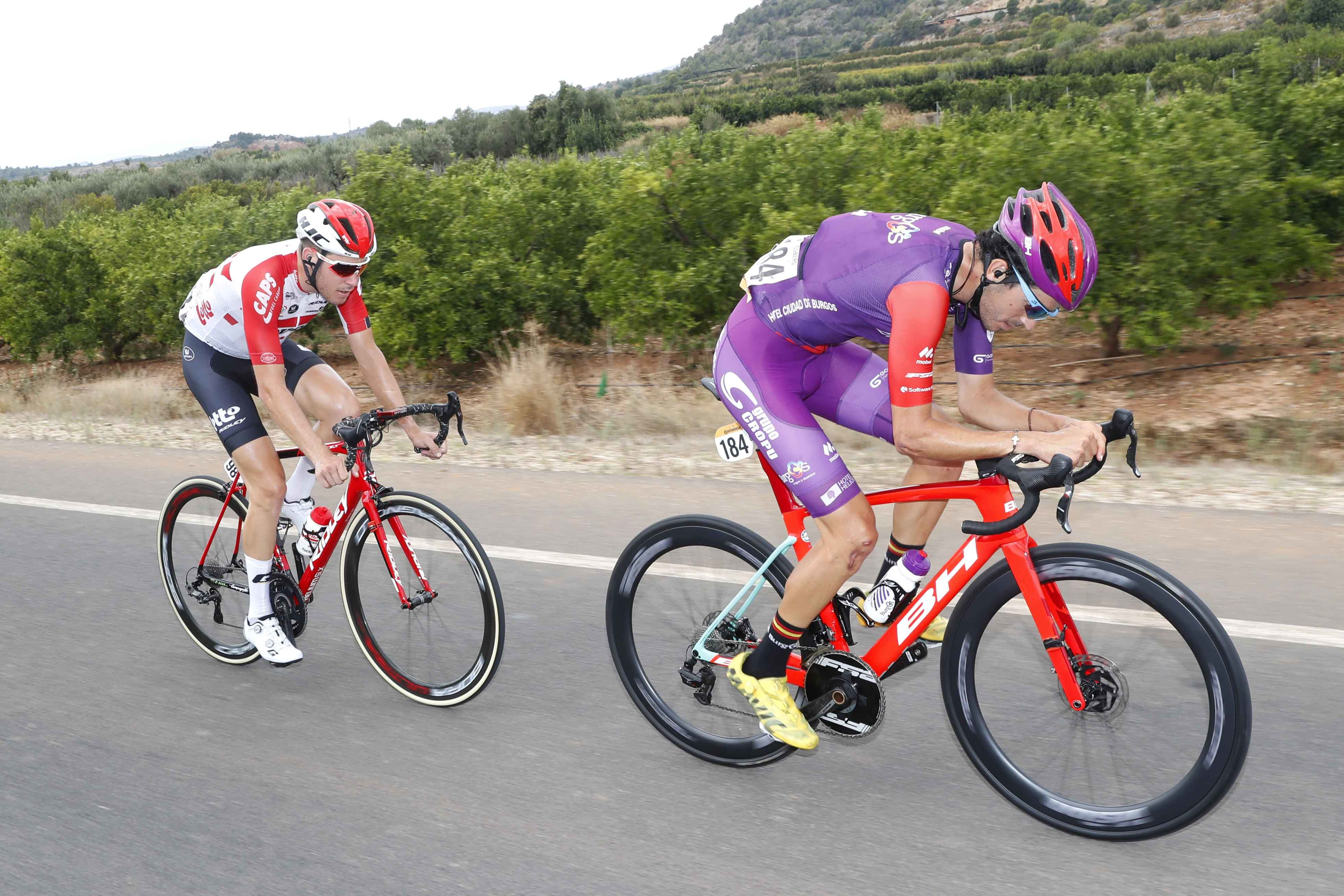 Jorge Cubero La Vuelta Burgos BH